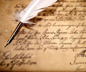 9904830-Vintage-letter-concept-Stock-Photo-poetry-pen-writer